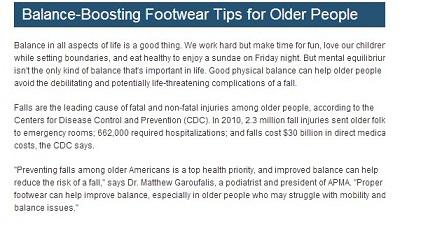 balance-boosting footwear tips for older people